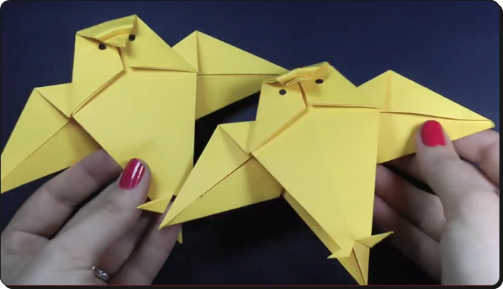 すべての折り紙 折り紙 顔 折り方 : ハロウィンの折り紙 折り方は ...